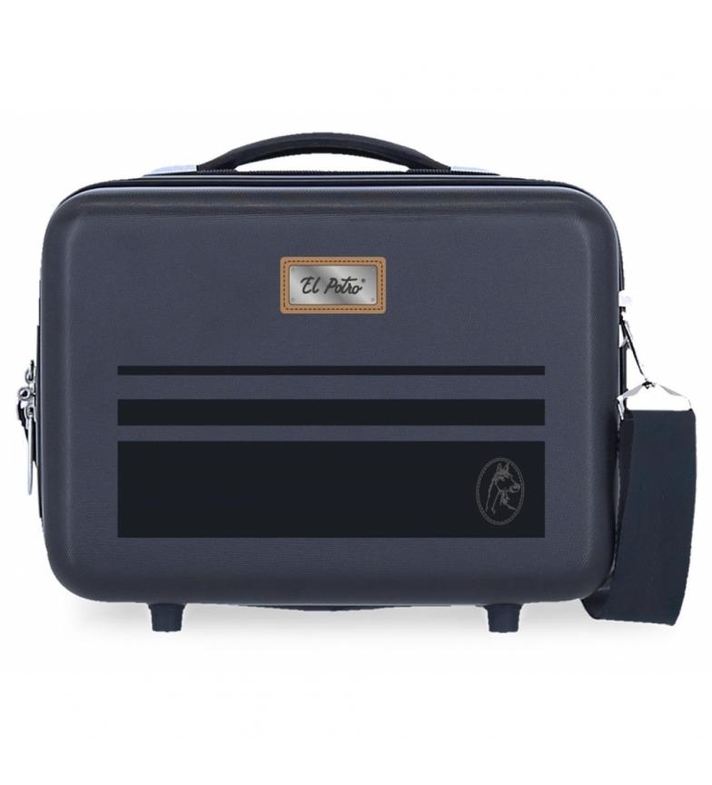 Comprar El Potro ABS Chic Adaptable Toilet Bag -29x21x15cm- marine