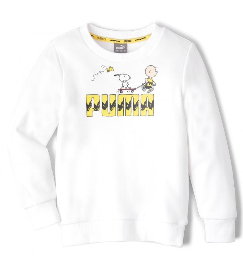 Comprar Puma Sweatshirt X Peanuts Crew B Jr blanc
