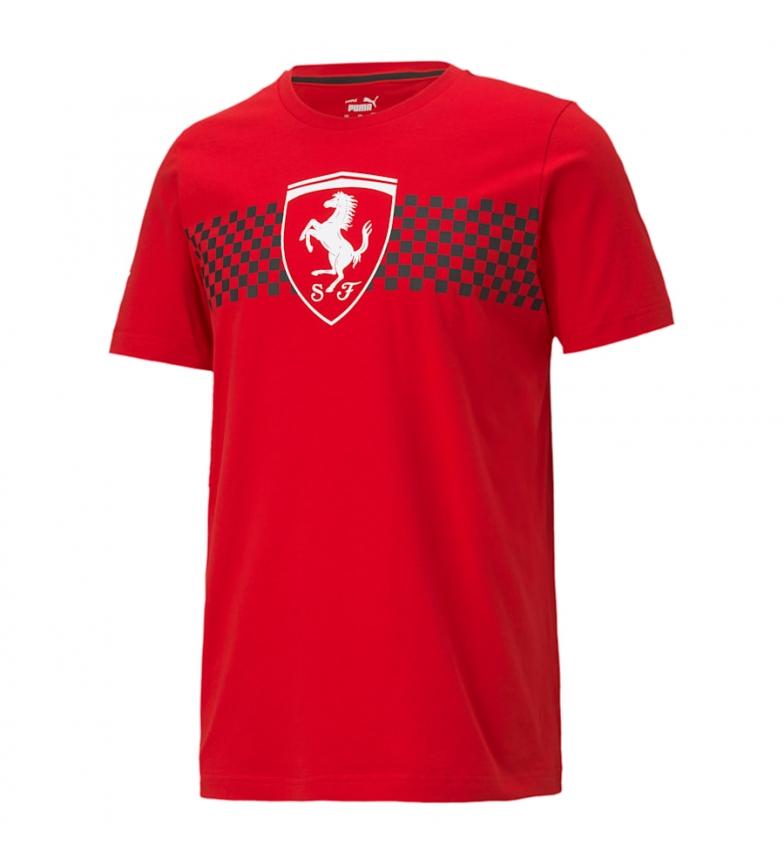 Comprar Puma Camiseta Ferrari Race Checkered Flag rojo
