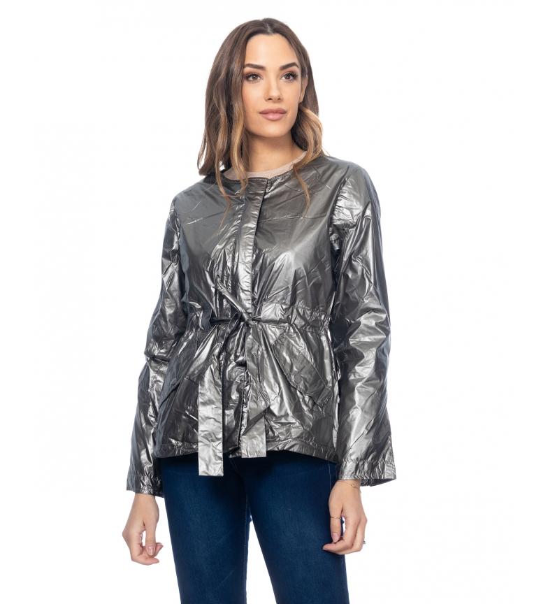 Comprar Tantra Jaqueta Silver Metallic Windbreaker