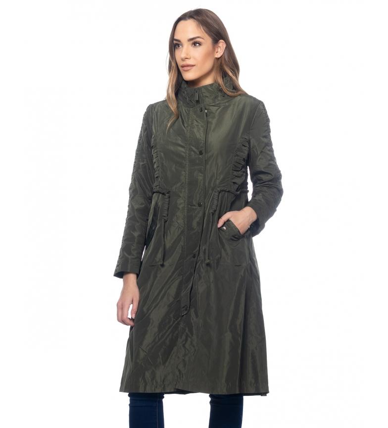 Comprar Tantra Long Jacket with green belt