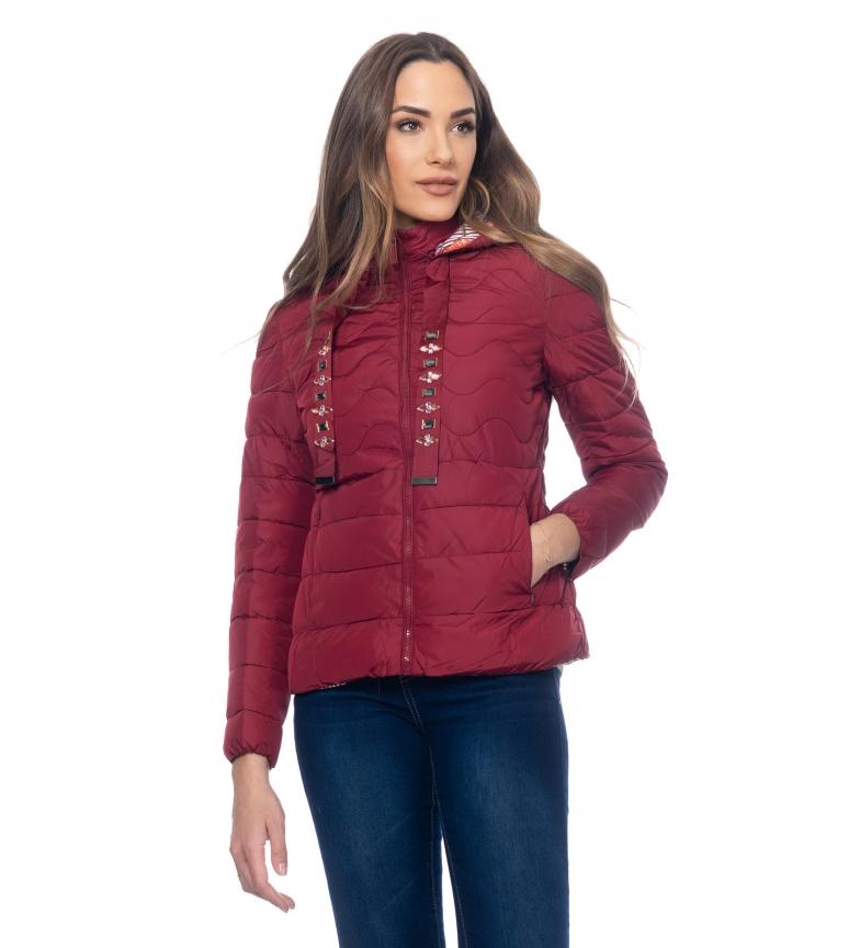 Comprar Tantra Anorack Short Hooded burgundy