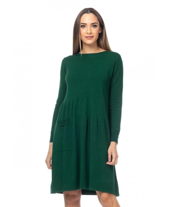 Comprar Tantra Robe volante en tricot vert