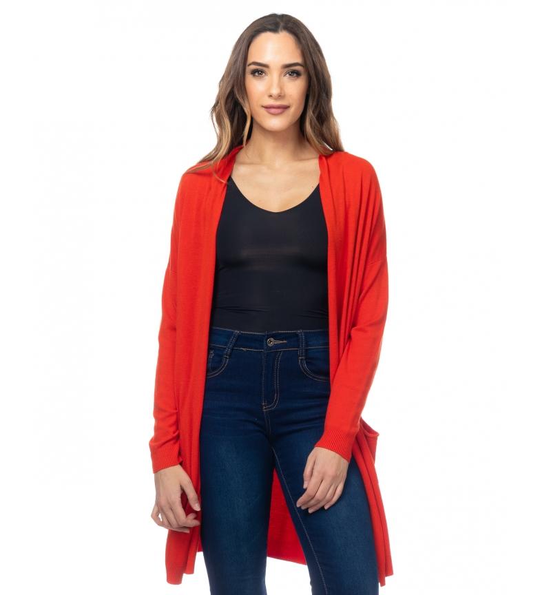 Comprar Tantra Casaco Longo de Malha Vermelho