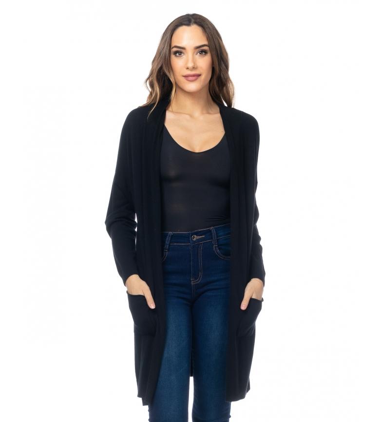 Comprar Tantra Long Knitted Jacket black