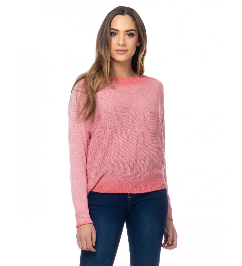 Comprar Tantra Pull en lurex et tricot avec fermeture éclair au niveau du corail dorsal