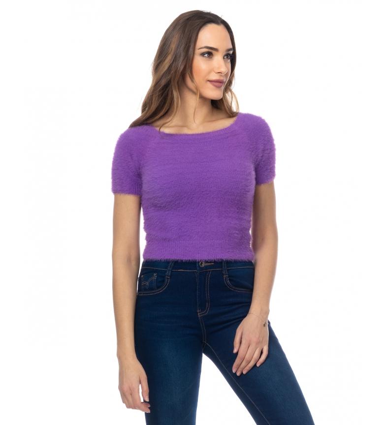 Comprar Tantra Pull tricoté avec des cheveux lilas
