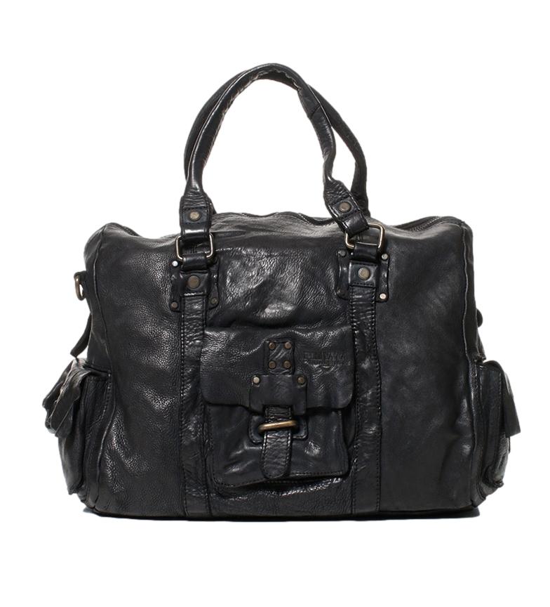 Comprar Privata Bag in pelle lavata Crackle Nuovo black-30x43x13 cm-