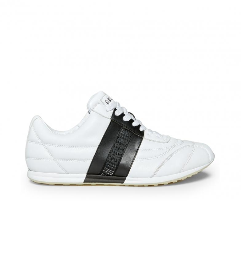 Bikkembergs Zapatillas de piel   Barthel B4BKM0111 blanco