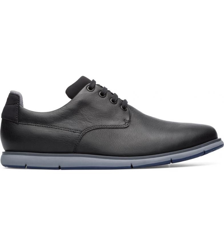 Comprar CAMPER Chaussures en cuir noir Smith