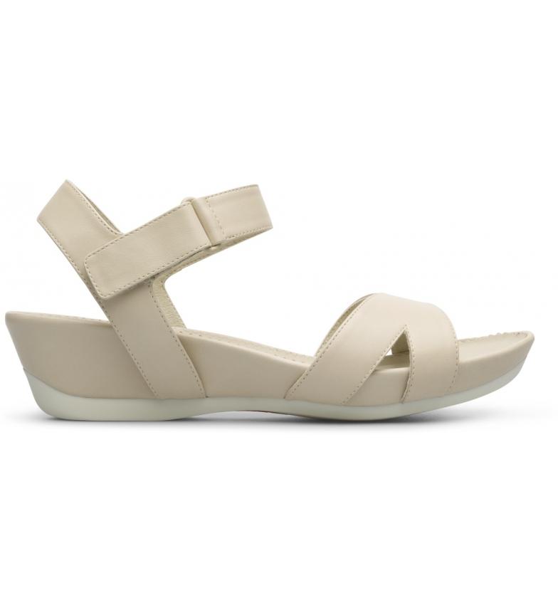 Comprar CAMPER Sandálias de couro micro bege