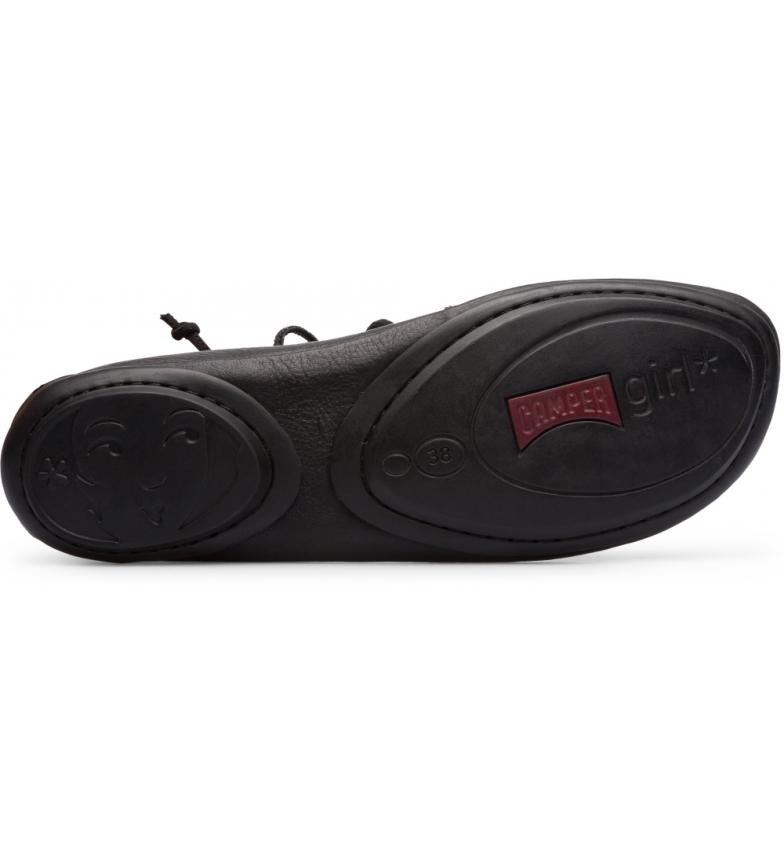 Comprar CAMPER Bailarinas Nina direita botas de pio preto