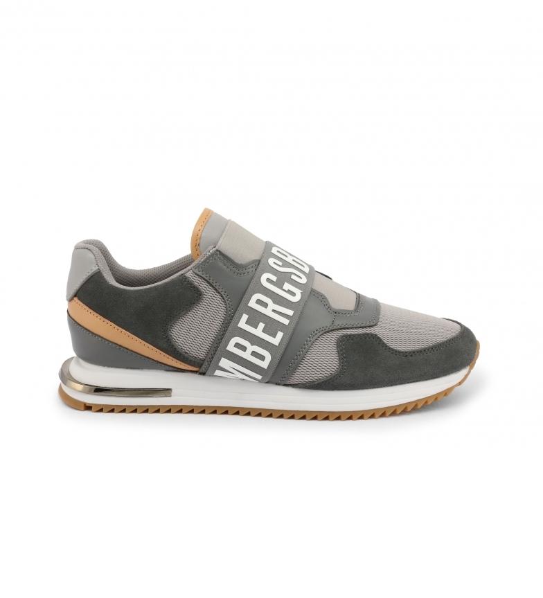 Comprar Bikkembergs Sapatos Haled B4BKM0071 cinza
