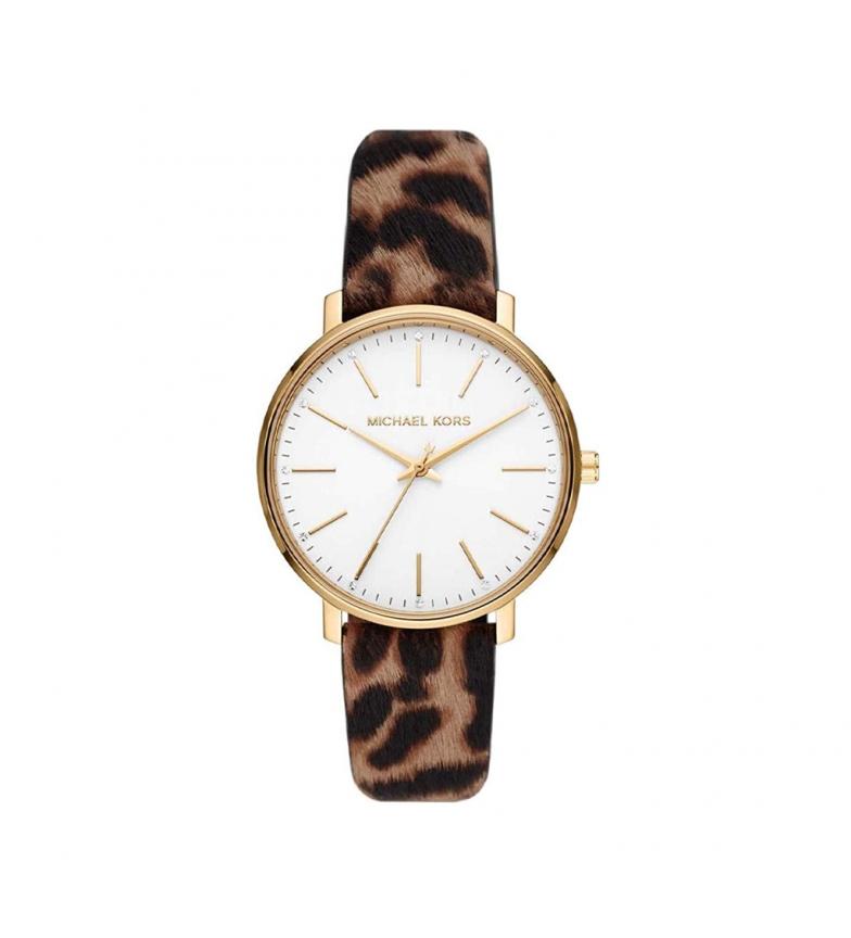 Comprar Michael Kors Analogue leather watch MK2928 brown