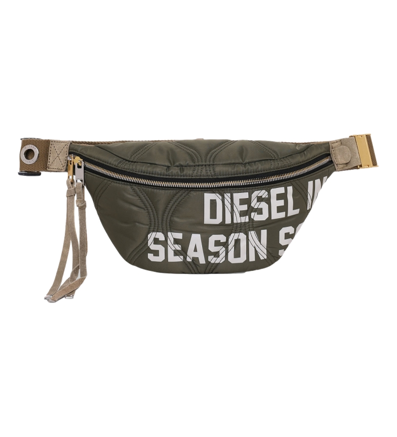Diesel Lyam BY bege, pochete cáqui -34x16x4cm