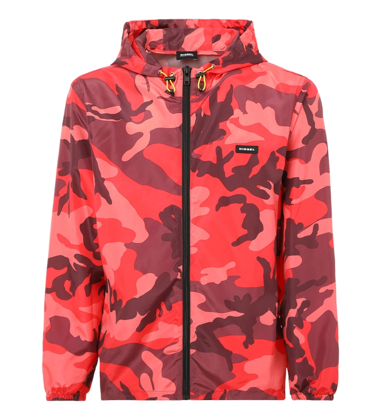 Comprar Diesel Jacket Bmowt-Windi-FG camouflage red