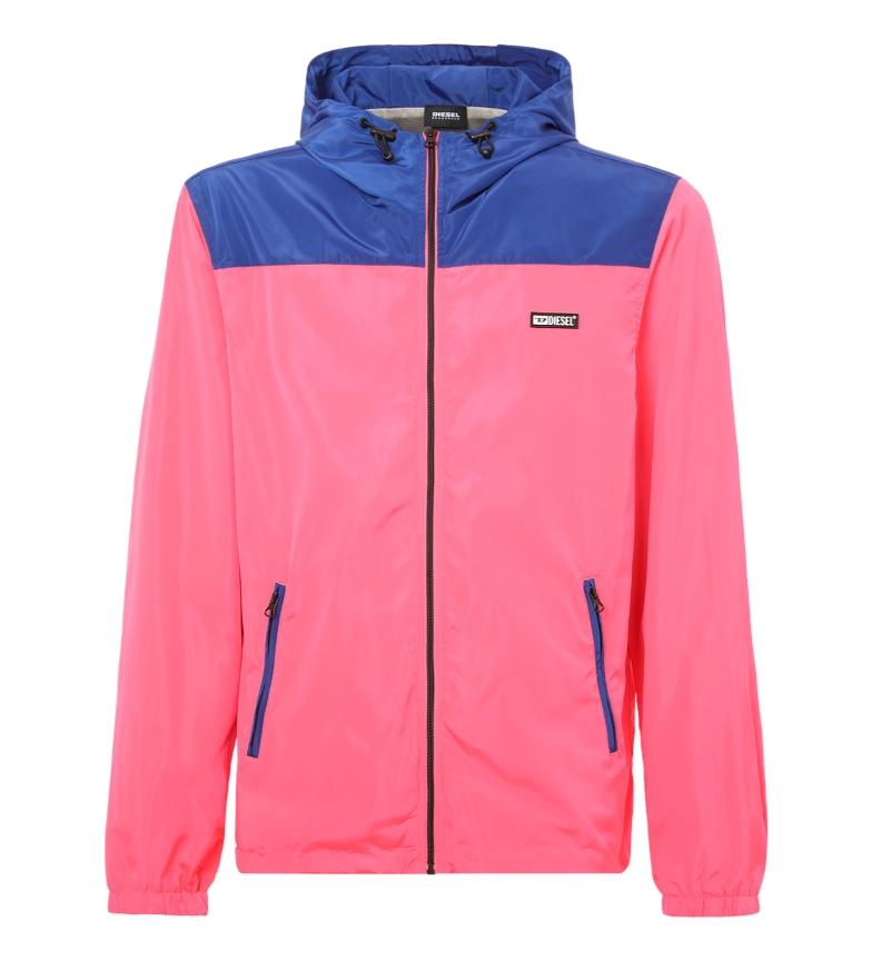 Comprar Diesel Bmowt-Harpoon rain jacket pink, blue