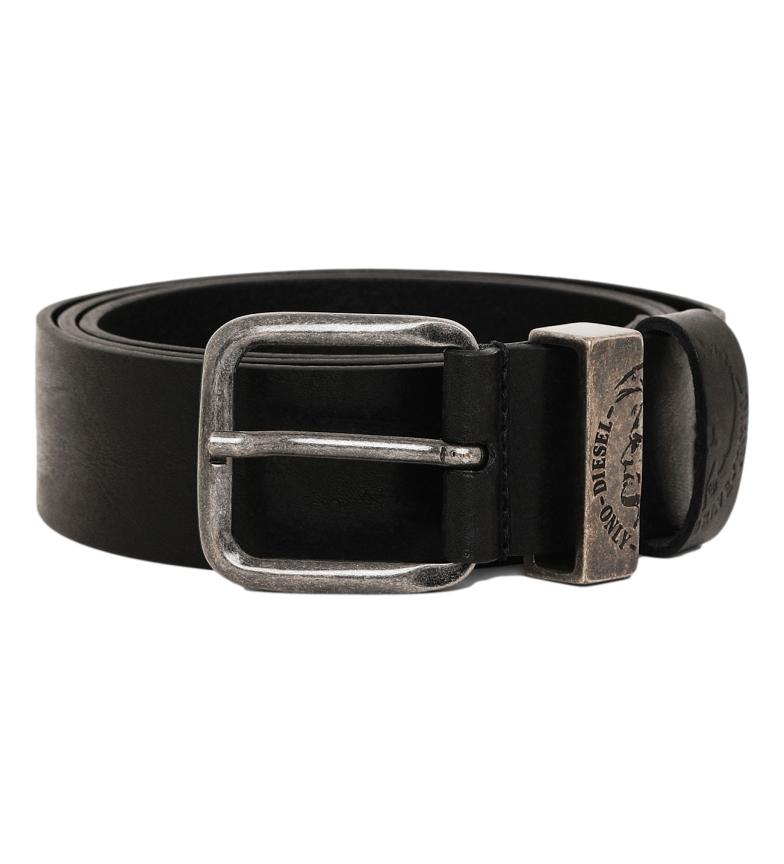 Comprar Diesel Leather belt B-Frag black