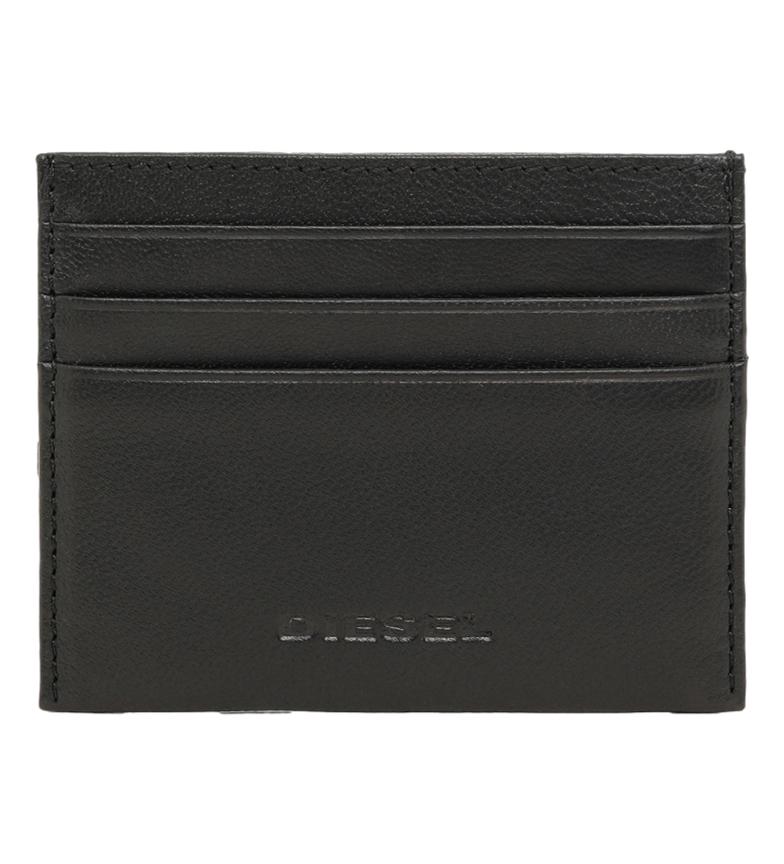 Comprar Diesel Porte-cartes en cuir Johnas II noir -10x8x0,5cm