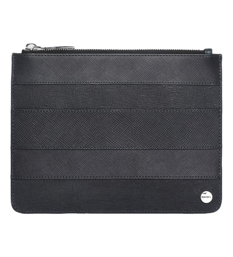 Comprar Diesel Sac à main en cuir Slyv M noir -21,5x16x6,3cm