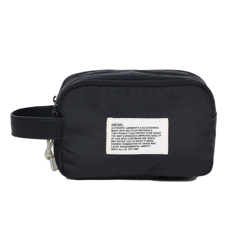 Comprar Diesel Saco de toucador Pouchur preto, turquesa -21,5x13x11cm-.