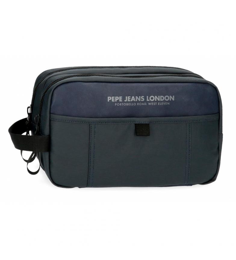 Comprar Pepe Jeans Toilet Bag Factory Double Compartment Adaptable navy -26x16x12cm