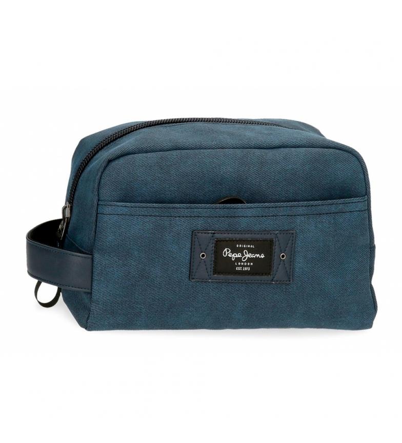 Comprar Pepe Jeans Vivac Adaptable Toilet Bag blue -25x15x12cm