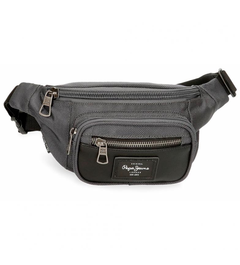Pepe Jeans Bomber fanny pack -35x13x5cm- dark grey