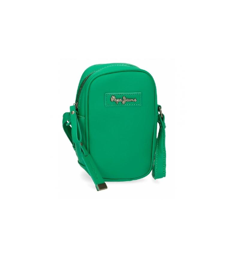 Comprar Pepe Jeans Tracolla mobile Aina -10,5x17x5cm- verde