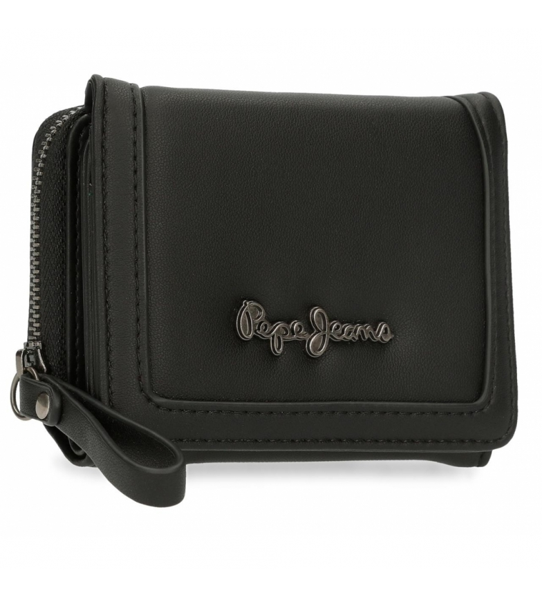 Comprar Pepe Jeans Aina wallet with coin purse -10x8x3cm-black