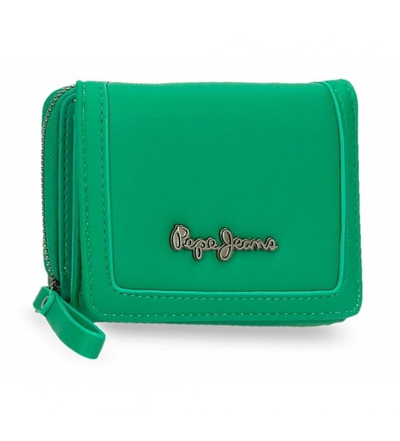 Comprar Pepe Jeans Billetero Aina con monedero -10x8x3cm-verde