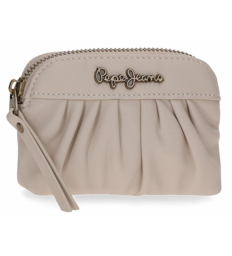 Comprar Pepe Jeans Iria coin purse -12x8x2cm- beige