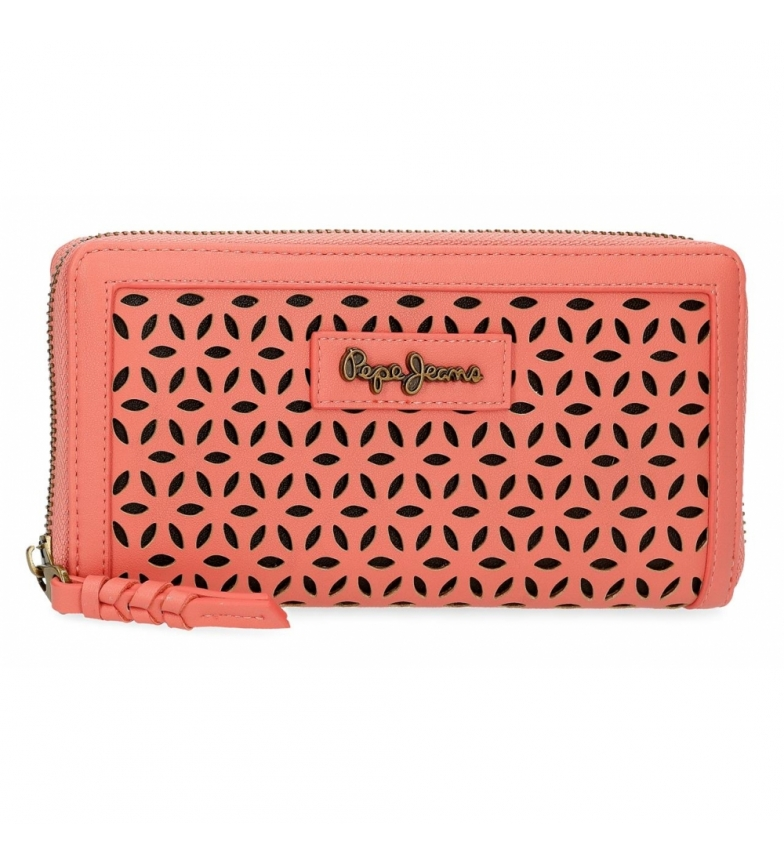Comprar Pepe Jeans Vega wallet -18x10x2cm- coral