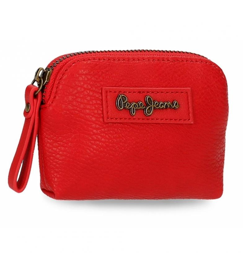 Comprar Pepe Jeans Monedero Chain -12x8x2cm- rojo