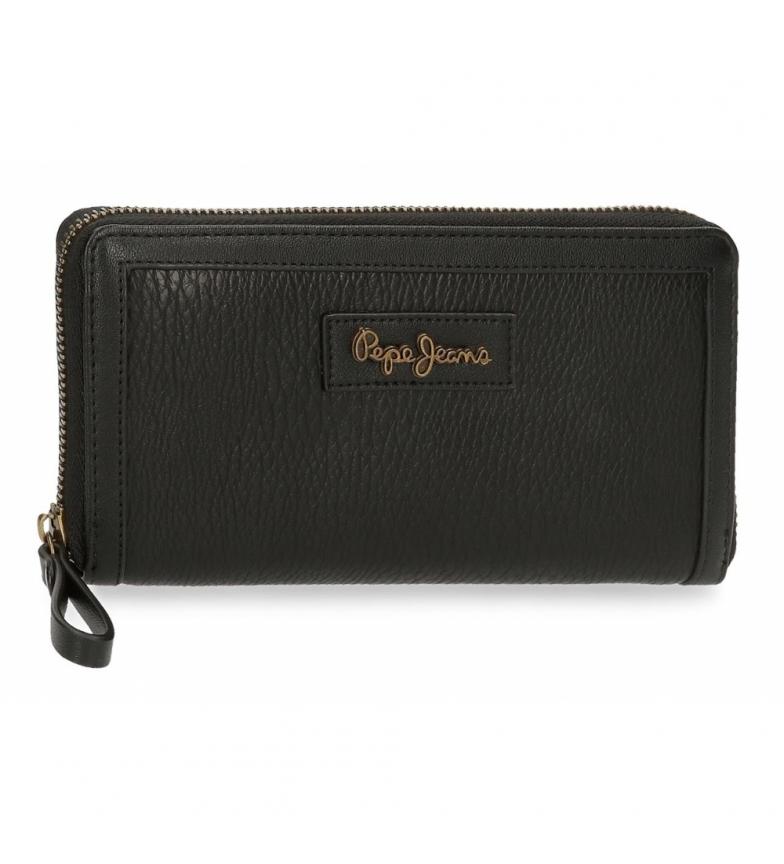 Comprar Pepe Jeans Chain Wallet -18x10x2cm- black