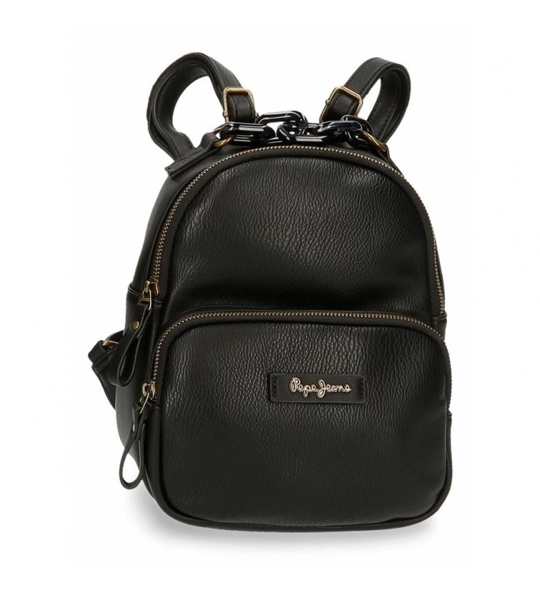 Comprar Pepe Jeans Chain Backpack Bag -20x26x10cm- black