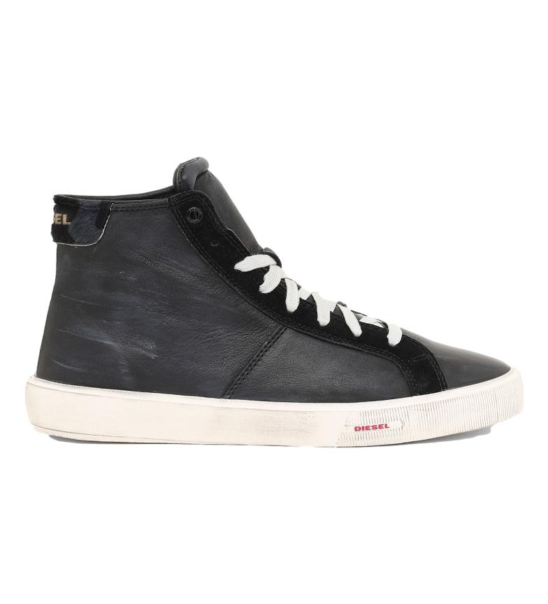 Comprar Diesel Chaussures en cuir S-Mydori MC noir