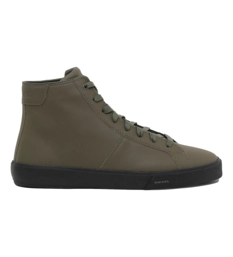 Comprar Diesel Sneaker S-Mydori MC in pelle color kaki