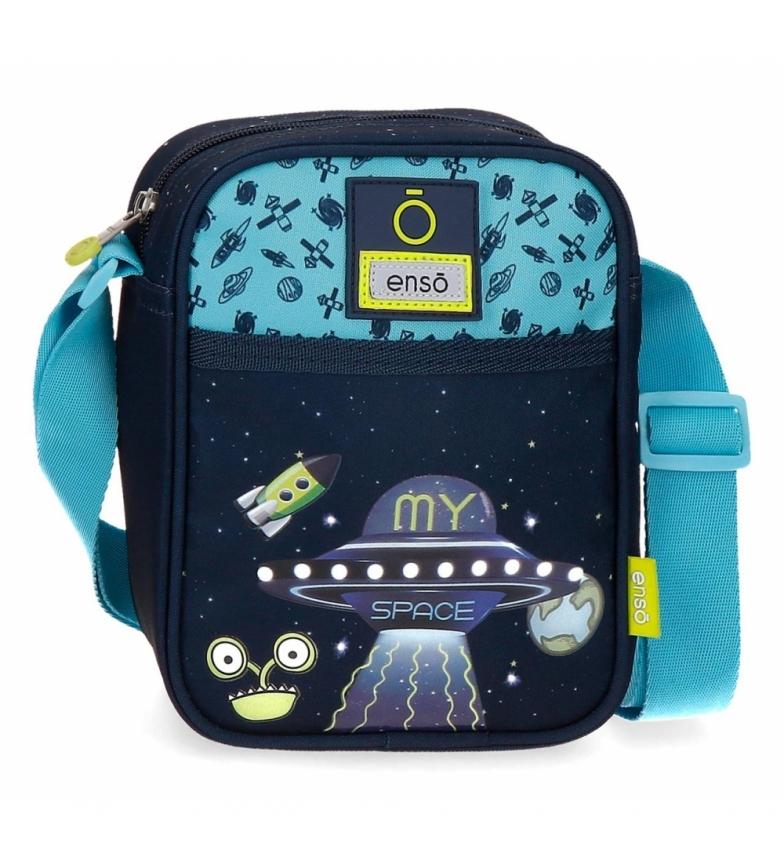 Comprar Enso My Space shoulder bag -15x19,5x8 cm- marine