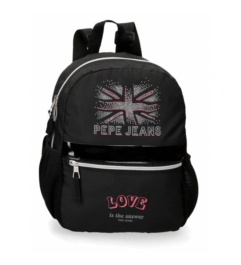 Comprar Pepe Jeans Ada walking backpack -25x32x12cm- black