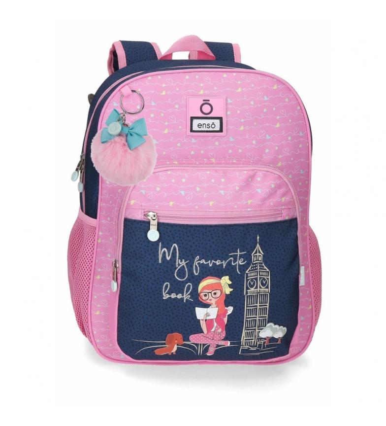 Comprar Enso Zaino scolastico adattabile Il mio libro preferito -30x38x12 cm- rosa