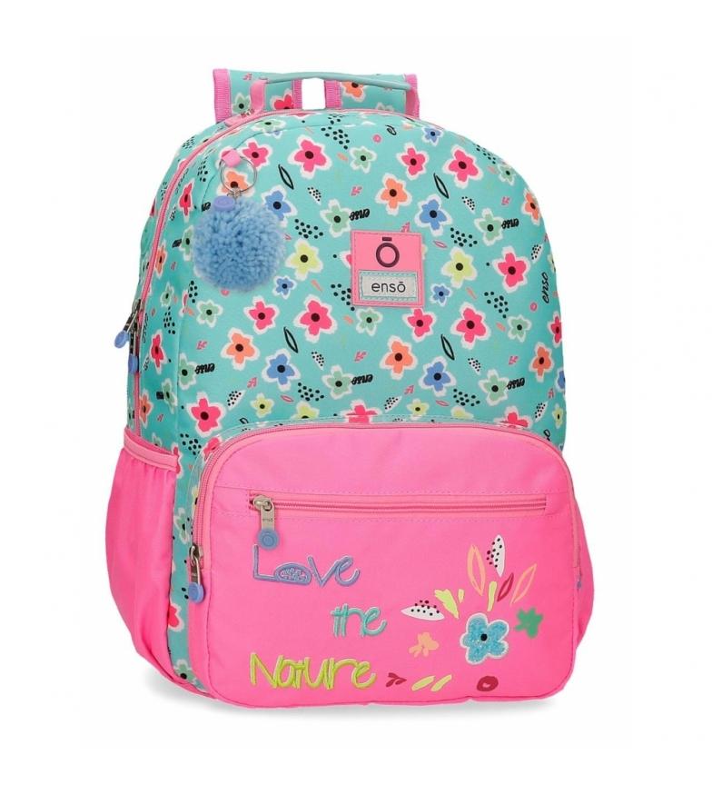 Comprar Enso Love the Nature Zaino per laptop adattabile -32x42x15cm- rosa