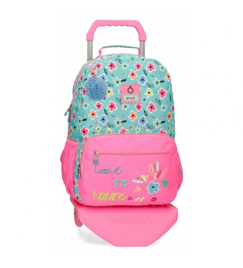 Comprar Enso Love the Nature Sac à dos pour ordinateur avec trolley -32x42x15cm- rose