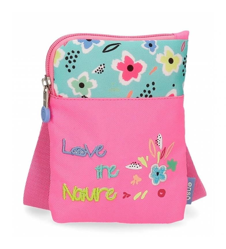 Comprar Enso Borsa a tracolla Mini Love the Nature -13x16,5x1,5 cm- rosa