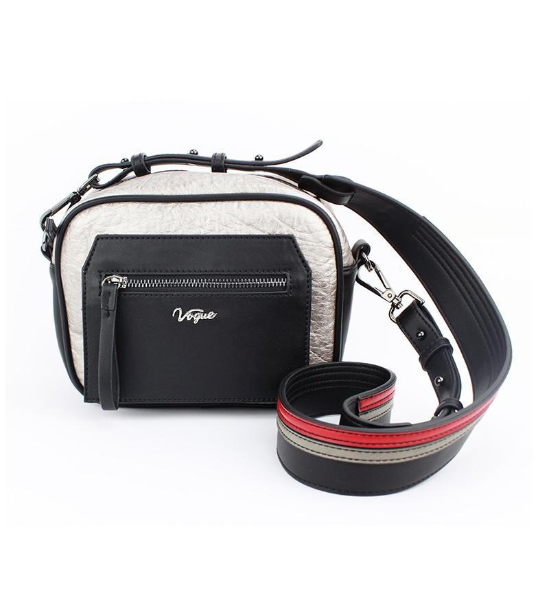 Comprar Vogue Borsa a tracolla argento streetwear -21x17x8cm-