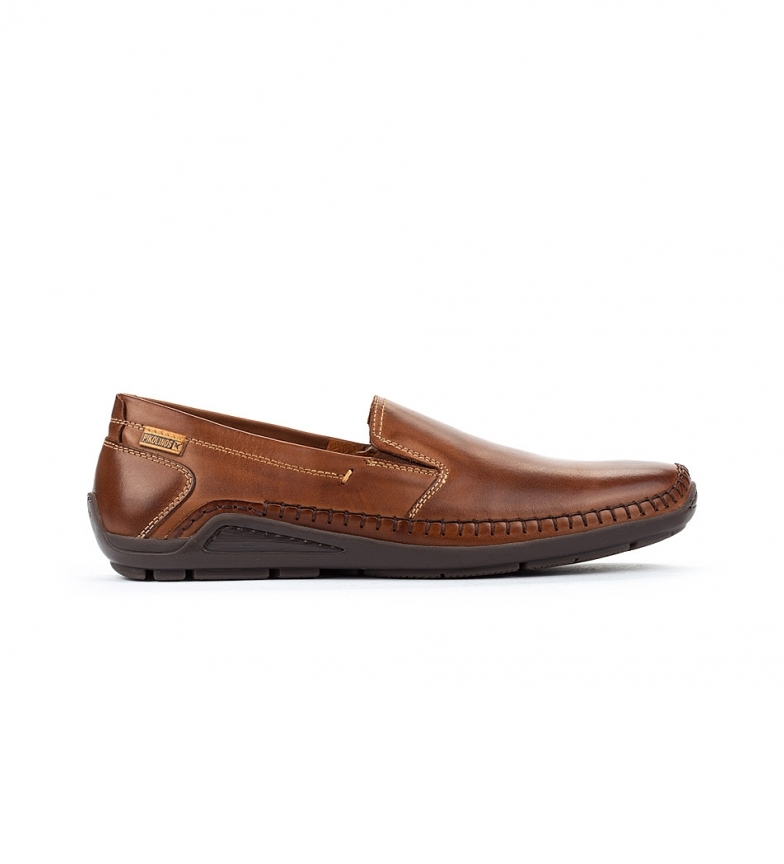 Comprar Pikolinos Azores 06H brown leather loafers brown