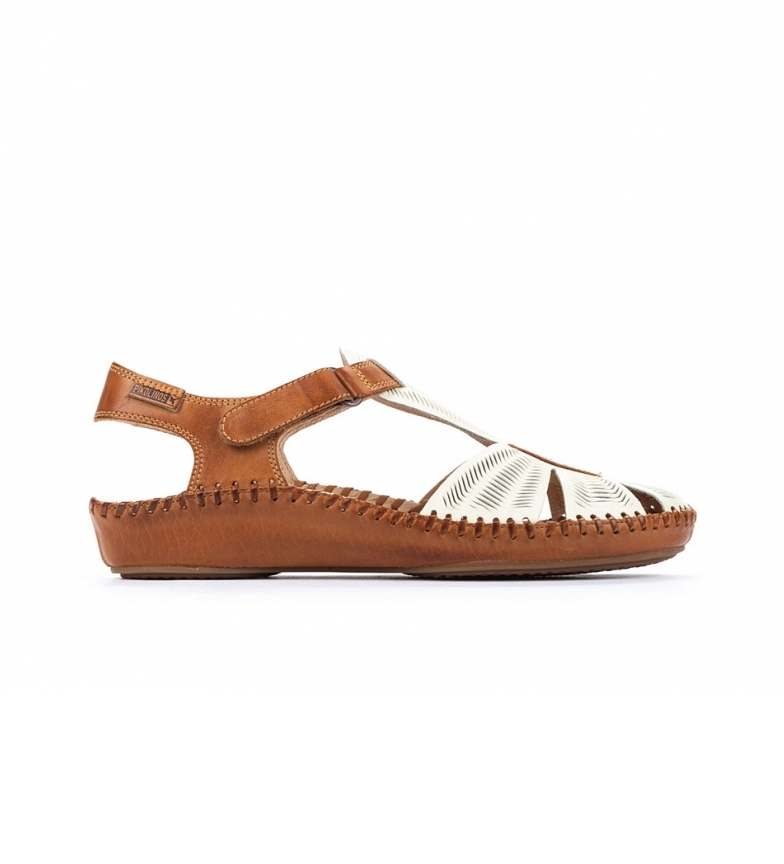 Comprar Pikolinos Sandálias de couro P. Vallarta 655-0575 branco