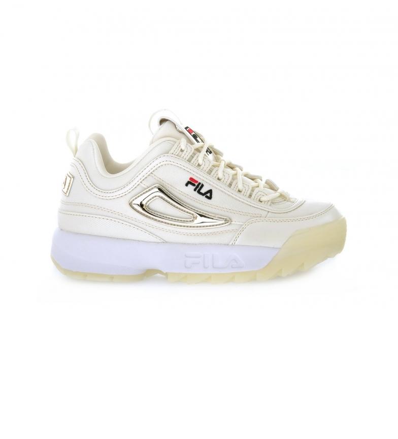 Comprar Fila Zapatillas Disruptor mesh blanco -altura plataforma: 3cm-