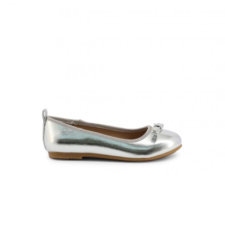 Shone Ballerinas 808-001 silver