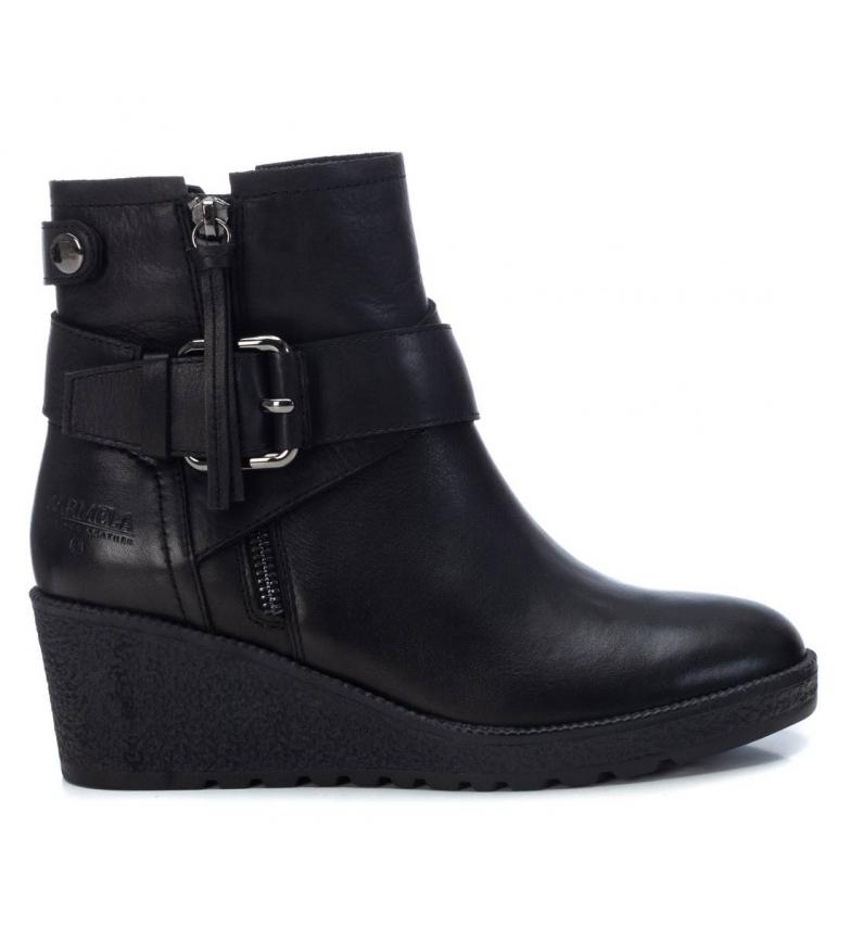 Comprar Carmela Leather ankle boots 067577 black -heel height: 8cm